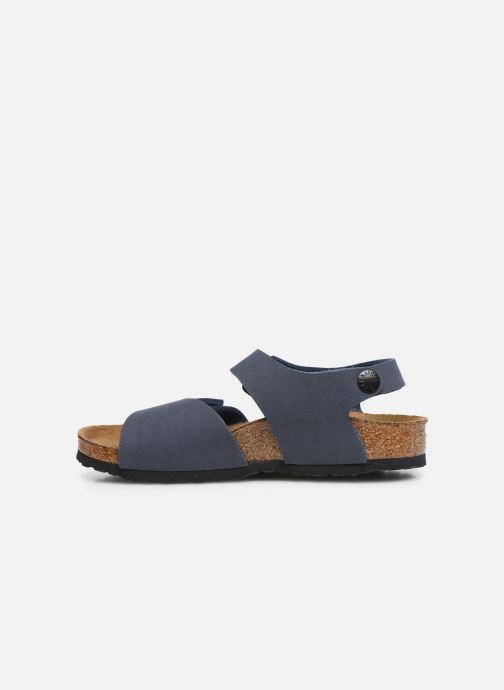 Sandalen Birkenstock PALU blau ansicht von vorne