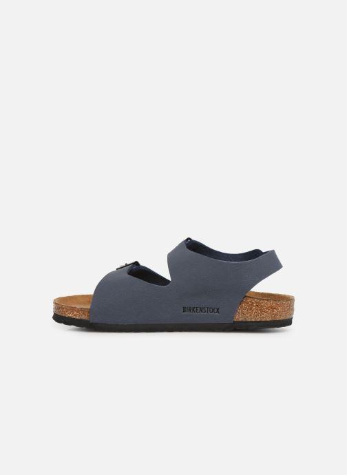 Sandales et nu-pieds Birkenstock ROMA Bleu vue face