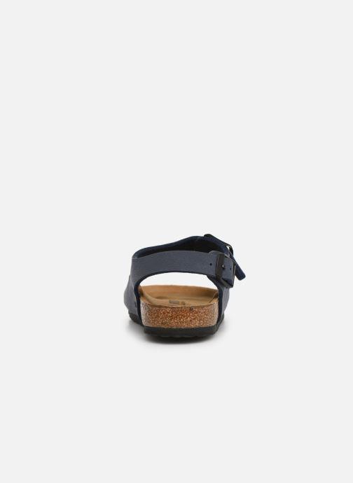 Sandales et nu-pieds Birkenstock ROMA Bleu vue droite