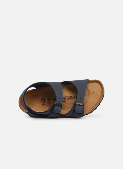 Sandalen Birkenstock ROMA blau ansicht von links