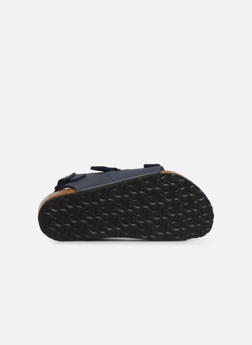 Sandales et nu-pieds Birkenstock ROMA Bleu vue haut
