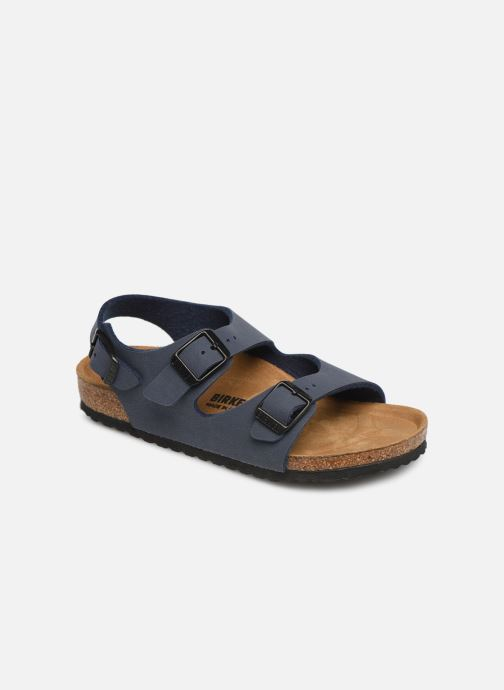 Sandals Birkenstock ROMA Blue detailed view/ Pair view