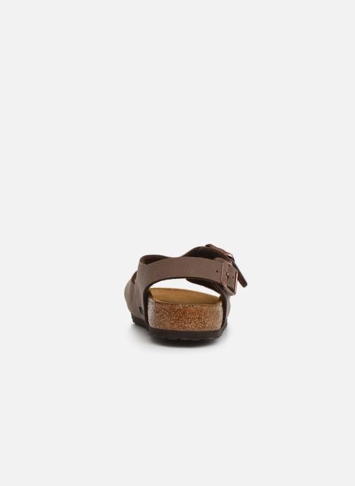 Sandals Birkenstock ROMA Brown view from the right