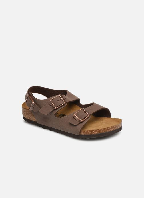 Sandals Birkenstock ROMA Brown detailed view/ Pair view