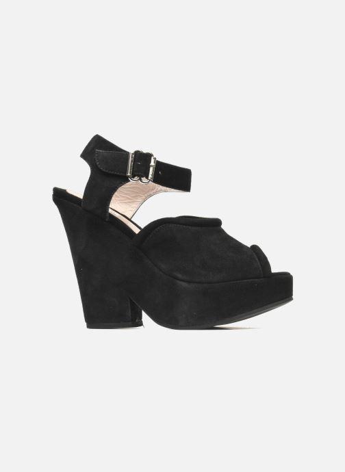 Sandales et nu-pieds Carven Gabrielly Noir vue derrière