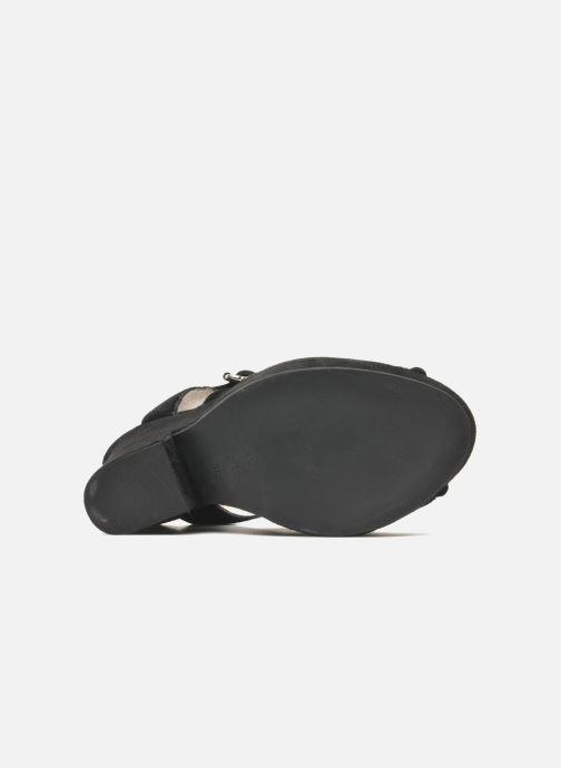 Sandales et nu-pieds Carven Gabrielly Noir vue haut
