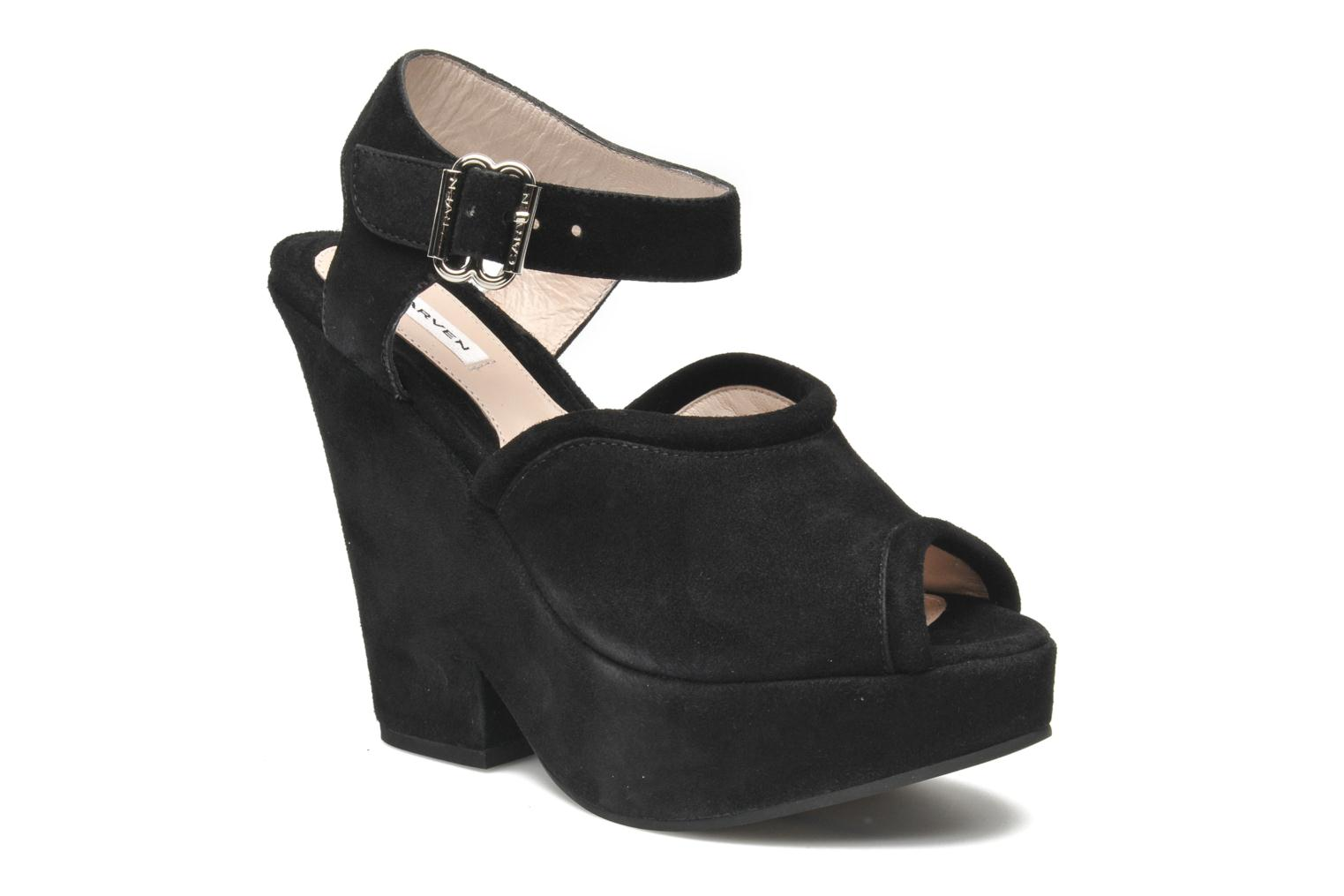 Sandals Carven Gabrielly Black detailed view/ Pair view