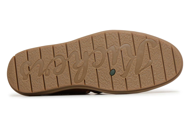 Sandalen Kickers Vidal braun ansicht von oben
