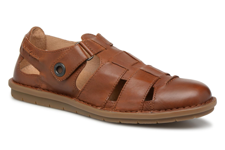 Sandalen Kickers Vidal braun detaillierte ansicht/modell