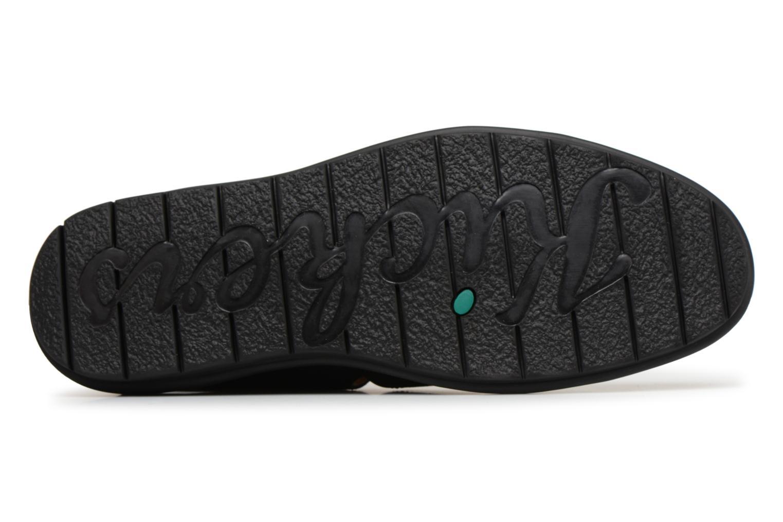 Sandales et nu-pieds Kickers Vidal Noir vue haut