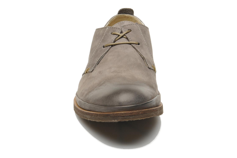 Chaussures à lacets Kickers Flavis Gris vue 3/4