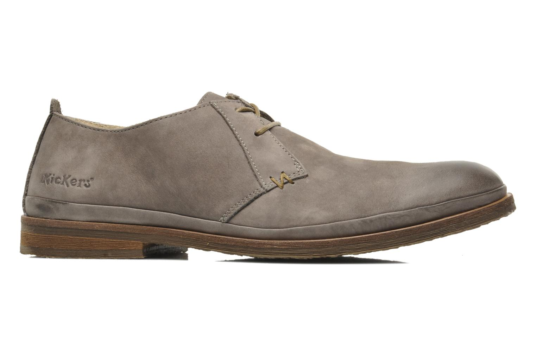 Chaussures à lacets Kickers Flavis Gris vue droite