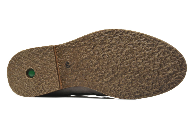 Chaussures à lacets Kickers Flavis Gris vue gauche