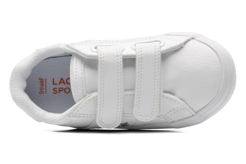 Sneaker Lacoste FAIRLEAD FSM SPI weiß ansicht von links
