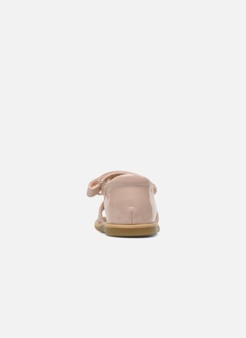 Sandali e scarpe aperte Shoo Pom Tity Back Sandal Rosa immagine destra