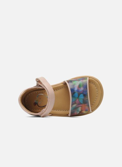 Sandali e scarpe aperte Shoo Pom Tity Back Sandal Rosa immagine sinistra