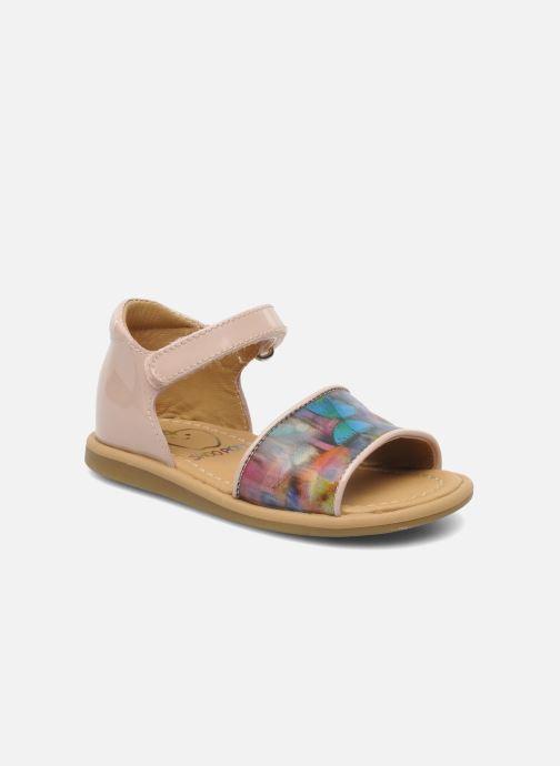 Sandales et nu-pieds Shoo Pom Tity Back Sandal Rose vue détail/paire