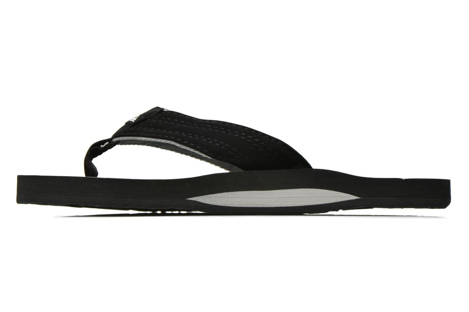 Tongs Quiksilver Basis Noir vue face