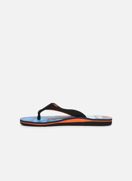 Flip flops Quiksilver Molokai layback Blue front view