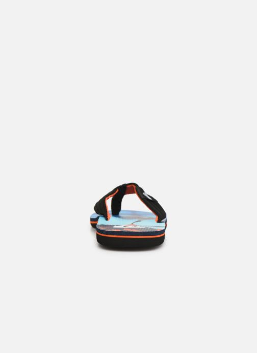 Flip flops Quiksilver Molokai layback Blue view from the right