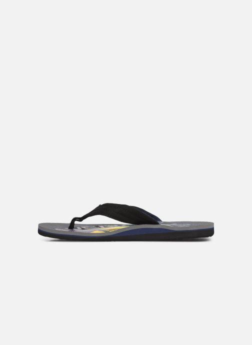 Flip flops Quiksilver Molokai layback Grey front view