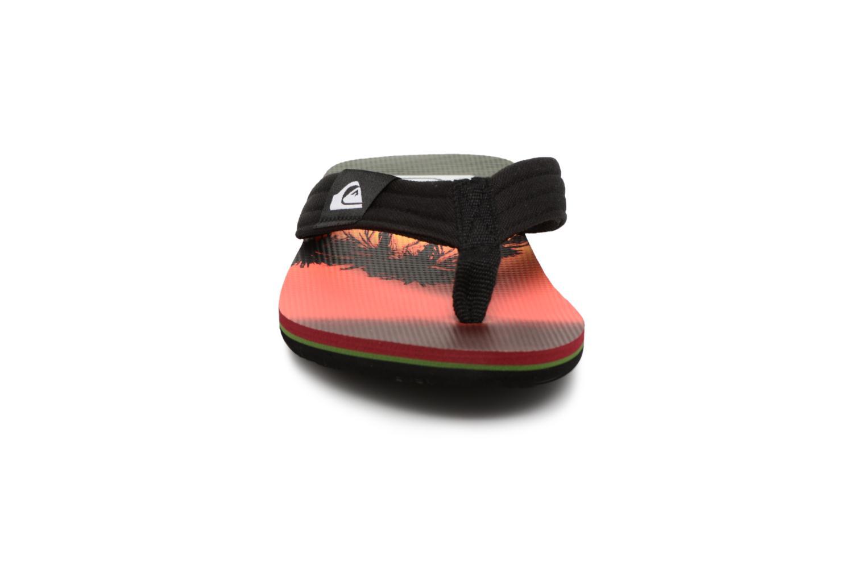 Flip flops Quiksilver Molokai layback Orange model view