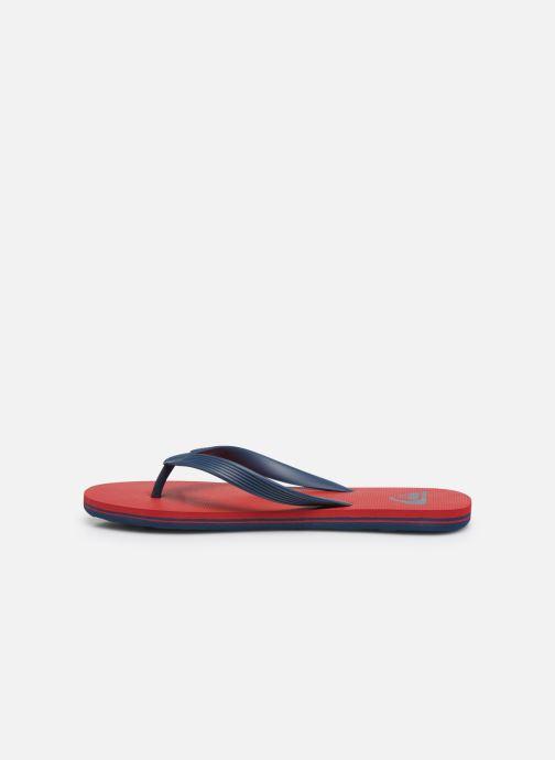 Slippers Quiksilver Molokai Blauw voorkant