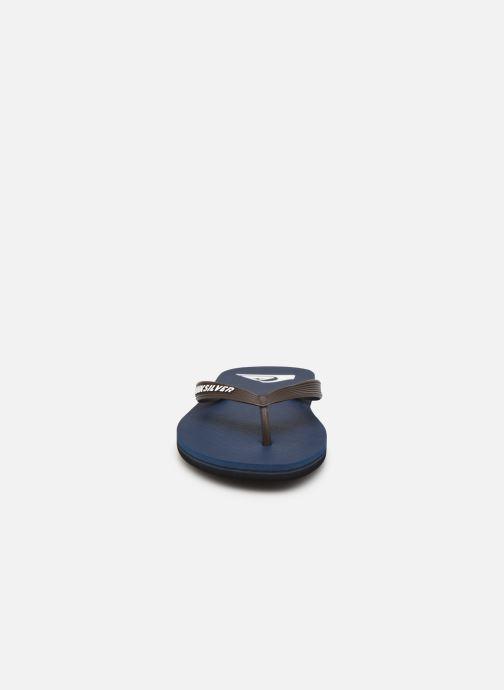 Slippers Quiksilver Molokai Blauw model