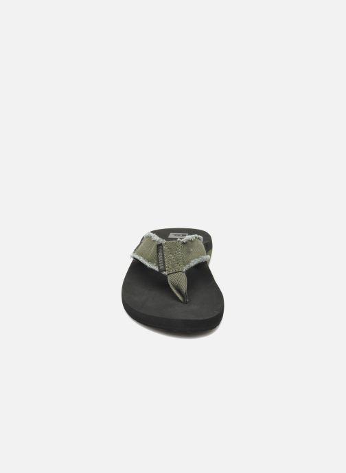 Flip flops Quiksilver Monkey Abyss Grön bild av skorna på