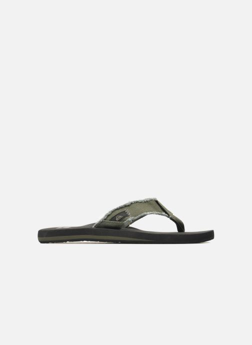 Chanclas Quiksilver Monkey Abyss Verde vistra trasera