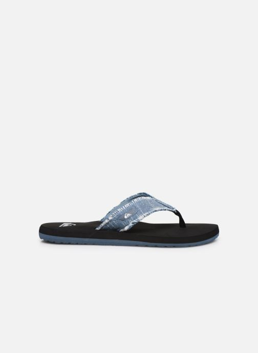 Chanclas Quiksilver Monkey Abyss Azul vistra trasera