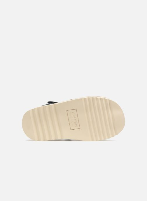 Sandals Pom d Api Waff Papy Blue view from above