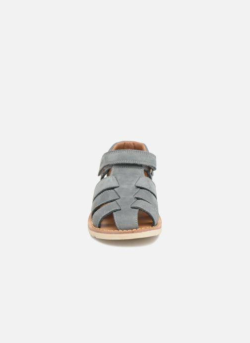Sandales et nu-pieds Pom d Api Waff Papy Gris vue portées chaussures
