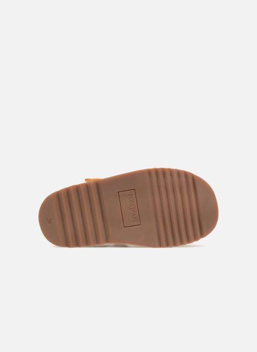 Sandales et nu-pieds Pom d Api Waff Papy Jaune vue haut