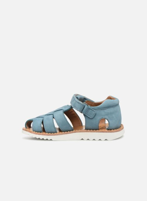 Sandalen Pom d Api Waff Papy Blauw voorkant