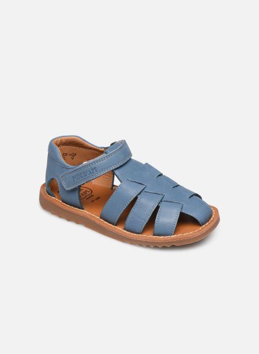 Sandalias Pom d Api Waff Papy Azul vista de detalle / par