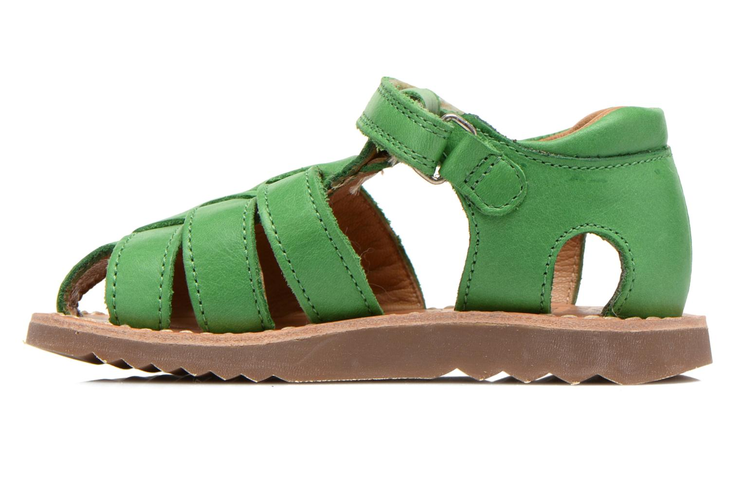 Sandals Pom d Api Waff Papy Green front view