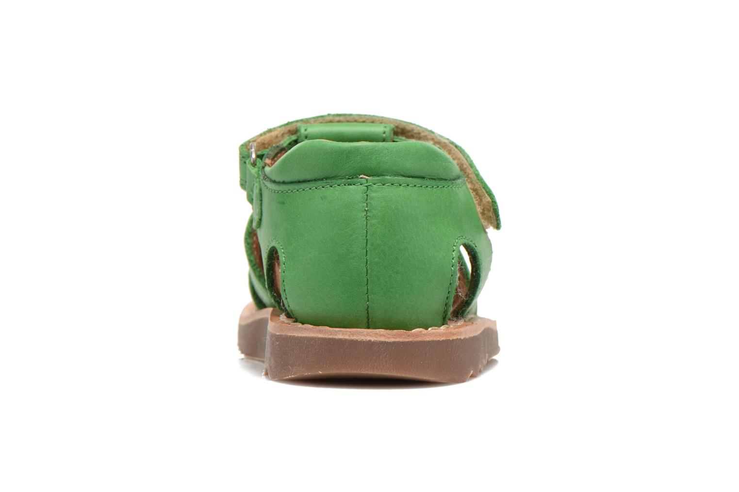 Sandals Pom d Api Waff Papy Green view from the right