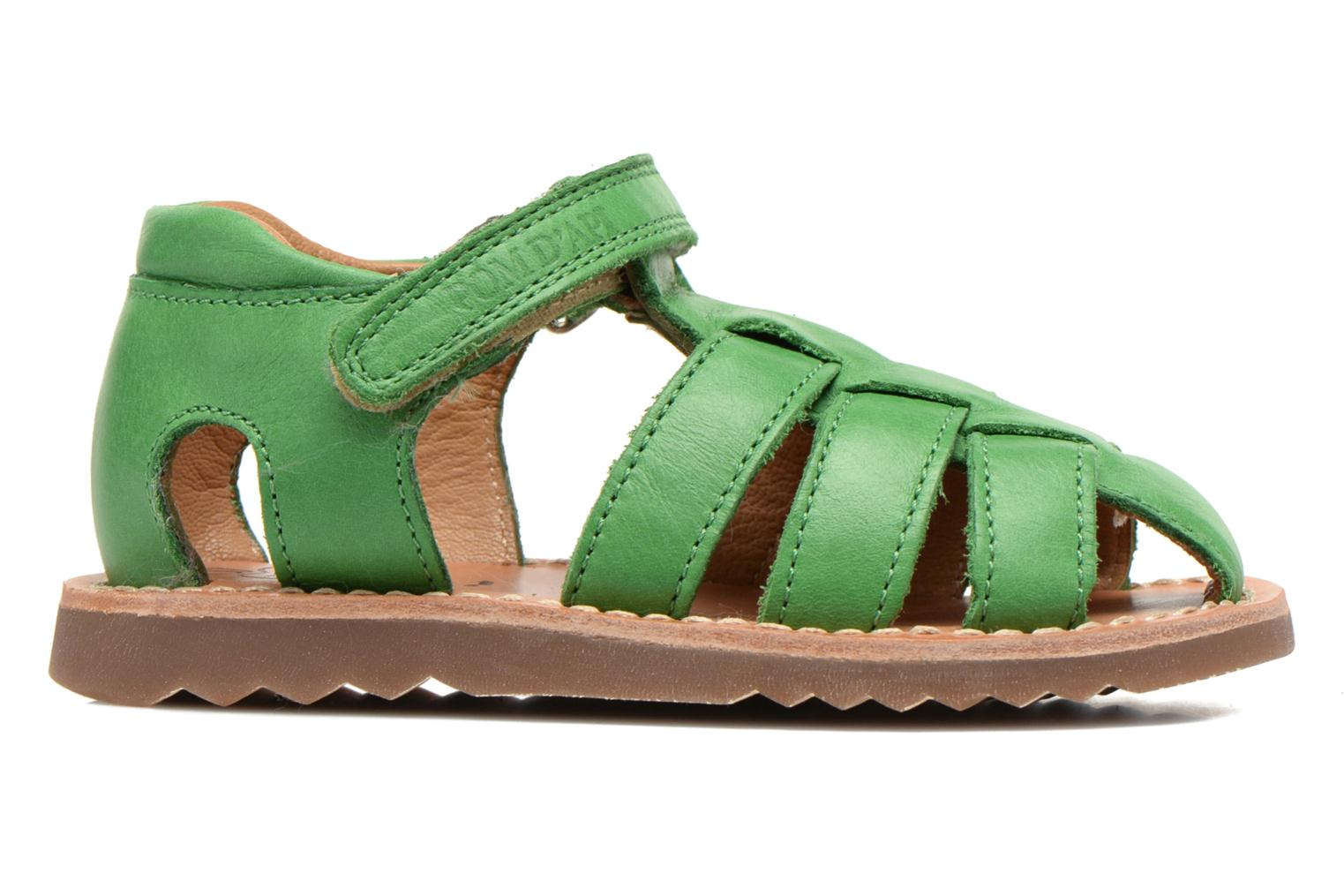 Sandals Pom d Api Waff Papy Green back view