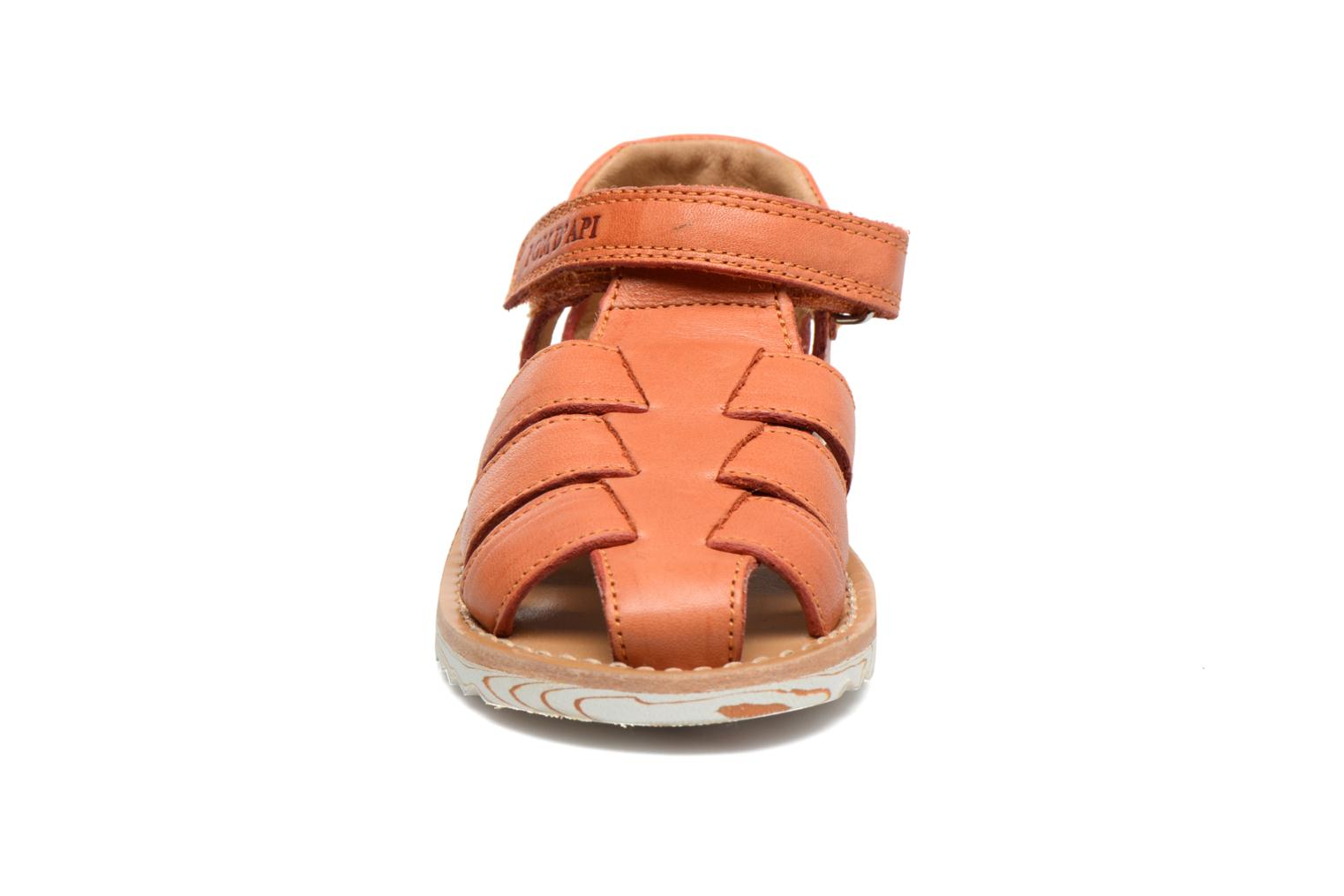Sandals Pom d Api Waff Papy Orange model view