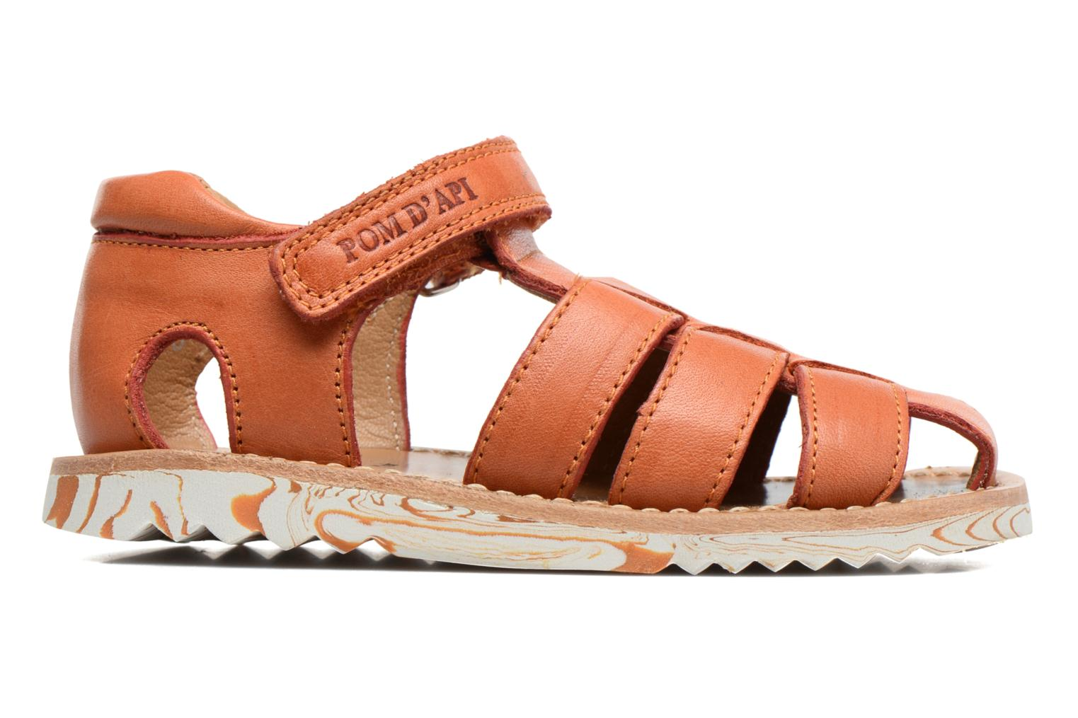 Sandals Pom d Api Waff Papy Orange back view
