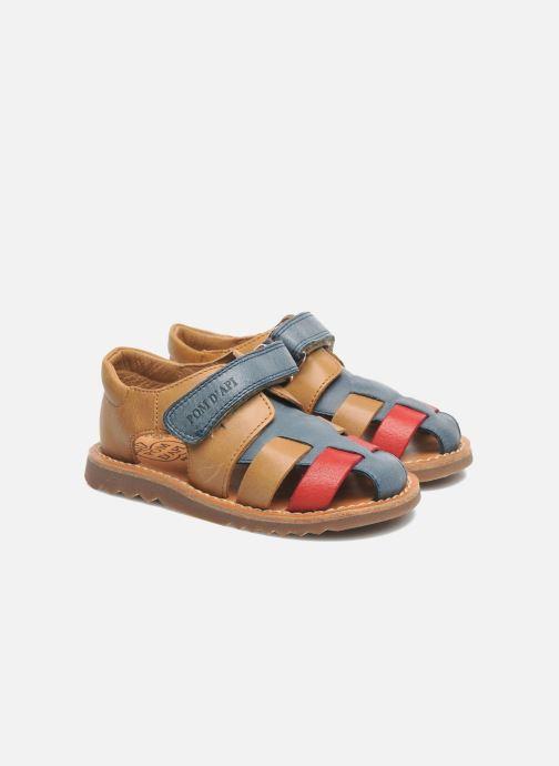 Sandali e scarpe aperte Pom d Api WAFF BOB Multicolore immagine 3/4