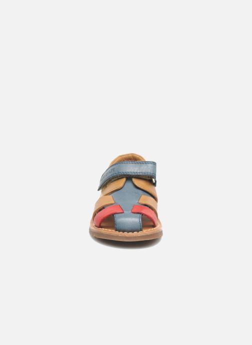 Sandali e scarpe aperte Pom d Api WAFF BOB Multicolore modello indossato