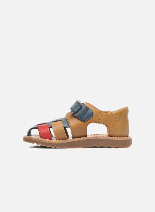 Sandali e scarpe aperte Pom d Api WAFF BOB Multicolore immagine frontale