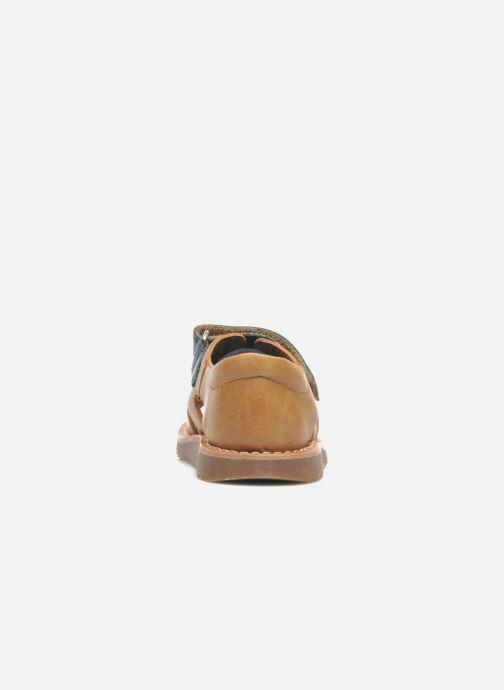 Sandali e scarpe aperte Pom d Api WAFF BOB Multicolore immagine destra