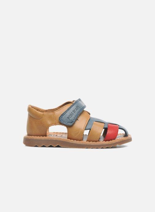 Sandales et nu-pieds Pom d Api WAFF BOB Multicolore vue derrière