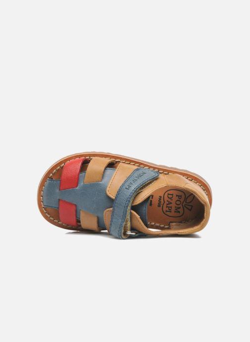 Sandali e scarpe aperte Pom d Api WAFF BOB Multicolore immagine sinistra
