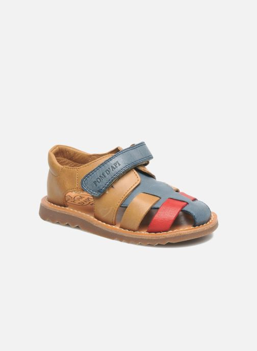 Sandales et nu-pieds Pom d Api WAFF BOB Multicolore vue détail/paire