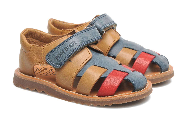 Sandales et nu-pieds Pom d Api WAFF BOB Multicolore vue 3/4