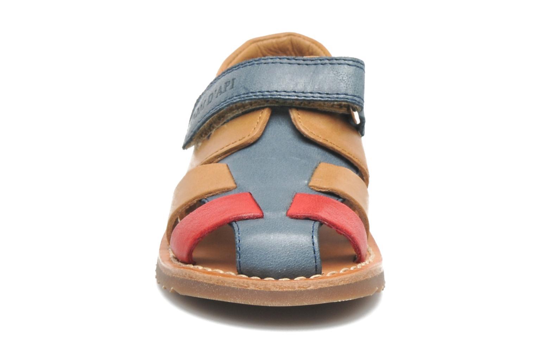 Sandales et nu-pieds Pom d Api WAFF BOB Multicolore vue portées chaussures